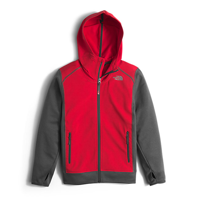 Discount NORTH FACE BOYS' KILOWATT JACKET RED ONLINE
