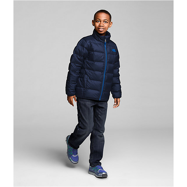 Discount NORTH FACE BOYS\' ANDES DOWN JACKET COSMIC BLUE ONLINE