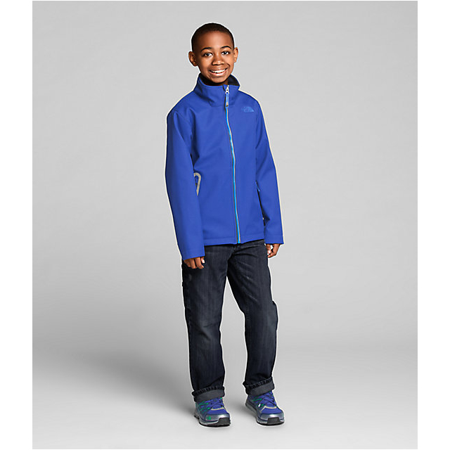 Discount NORTH FACE BOYS\' APEX BIONIC JACKET HONOR BLUE ONLINE