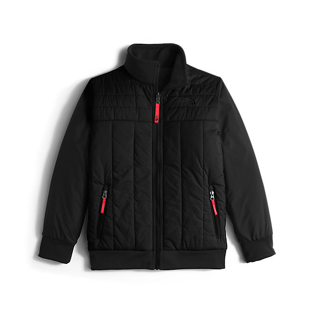 Discount NORTH FACE BOYS\' REVERSIBLE YUKON JACKET BLACK ONLINE