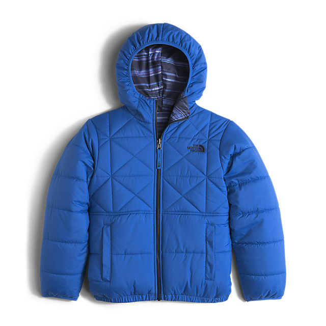 Discount NORTH FACE BOYS' REVERSIBLE PERRITO JACKET JAKE BLUE ONLINE