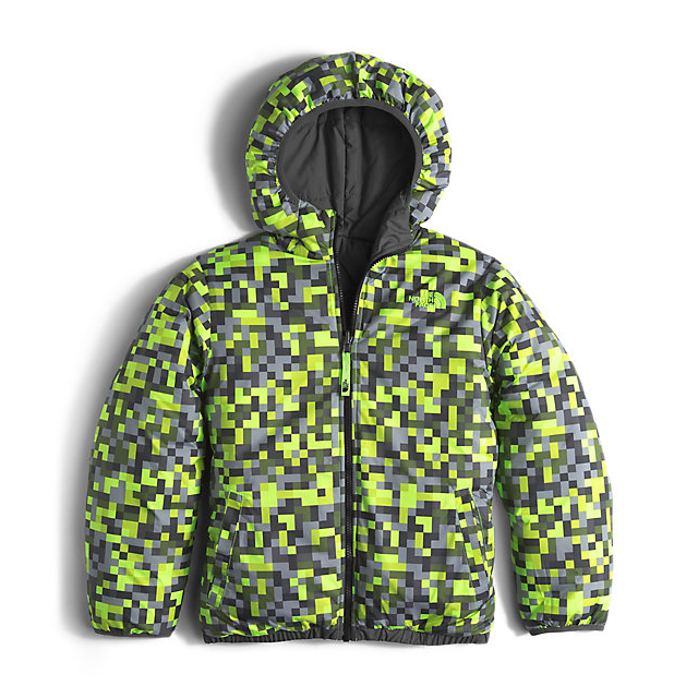 Discount NORTH FACE BOYS\' REVERSIBLE PERRITO JACKET GRAPHITE GREY ONLINE