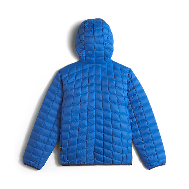 Discount NORTH FACE BOYS\' REVERSIBLE THERMOBALL HOODIE JAKE BLUE ONLINE