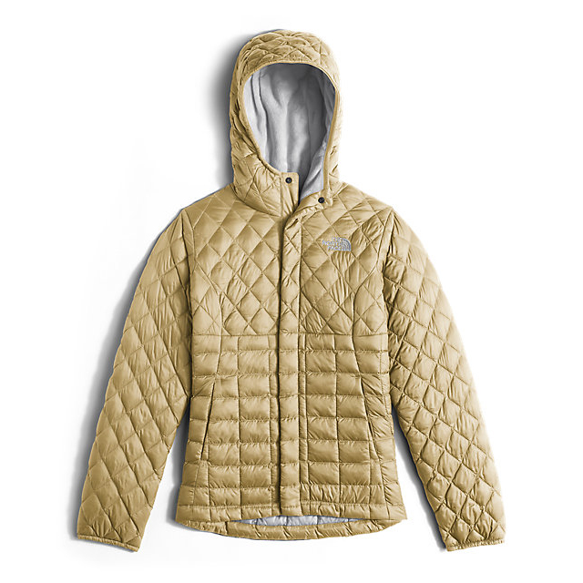 Discount NORTH FACE GIRLS' LEXI THERMOBALL HOODIE COCOON YELLOW ONLINE