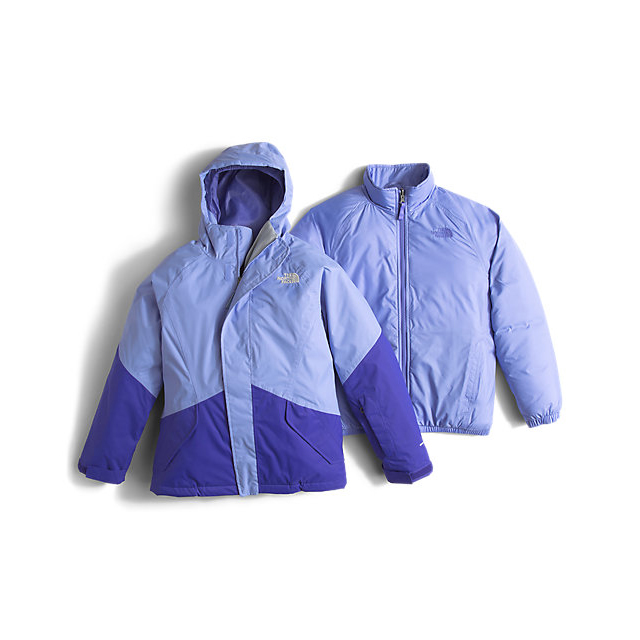 Discount NORTH FACE GIRLS\' KIRA TRICLIMATE JACKET GRAPEMIST BLUE ONLINE