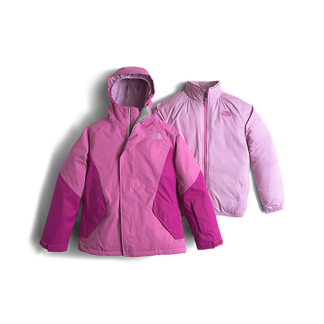 Discount NORTH FACE GIRLS\' KIRA TRICLIMATE JACKET WISTERIA PURPLE ONLINE