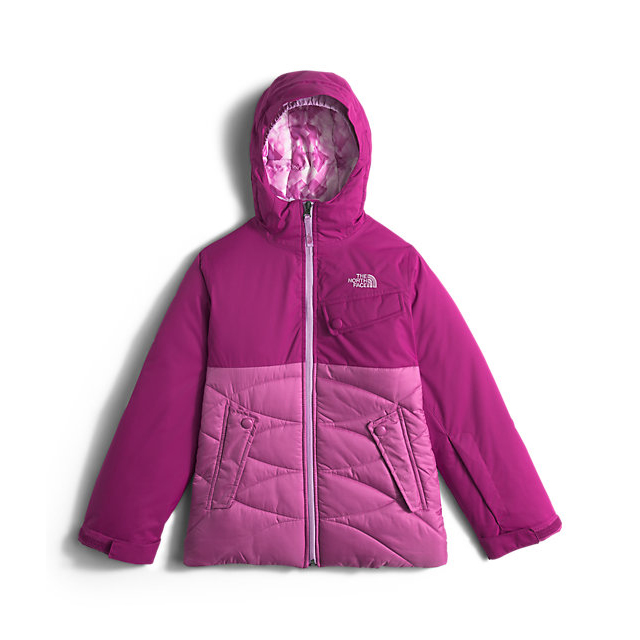 Discount NORTH FACE GIRLS\' CARLY INSULATED JACKET ROXBURY PINK ONLINE