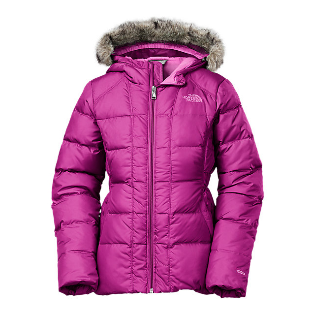 Discount NORTH FACE GIRLS\' GOTHAM DOWN JACKET ROXBURY PINK ONLINE