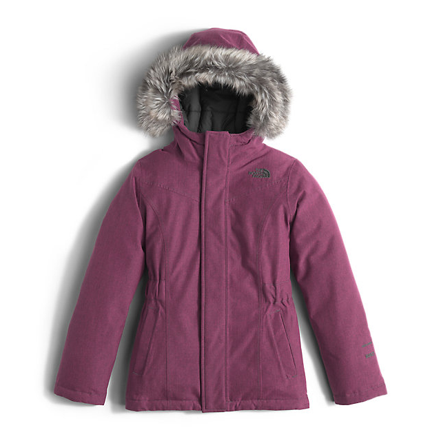 Discount NORTH FACE GIRLS' GREENLAND DOWN PARKA CABARET PINK HEATHER ONLINE