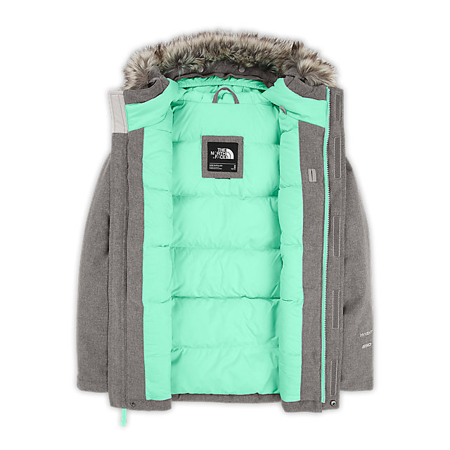 Discount NORTH FACE GIRLS\' GREENLAND DOWN PARKA GRAPEMIST BLUE HEATHER ONLINE