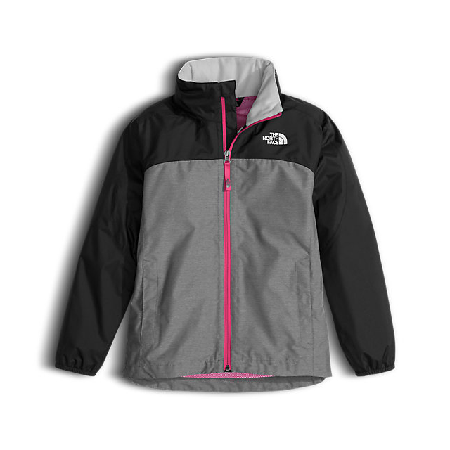 Discount NORTH FACE GIRL\'S TECH RESOLVE REFLECTIVE JACKET MEDIUM GREY HEATHER ONLINE