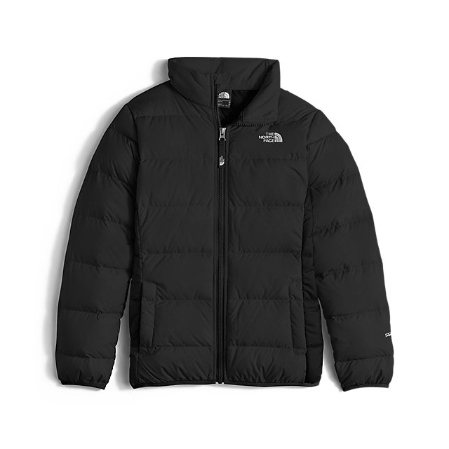 Discount NORTH FACE GIRLS' ANDES DOWN JACKET BLACK ONLINE