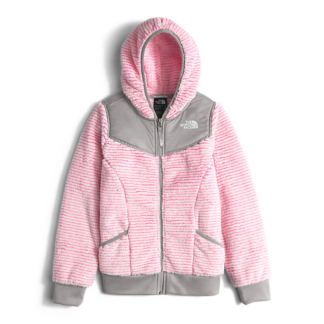 Discount NORTH FACE GIRLS' OSO HOODIEGIRLS' OSO HOODIE CHA CHA PINK STRIPE ONLINE