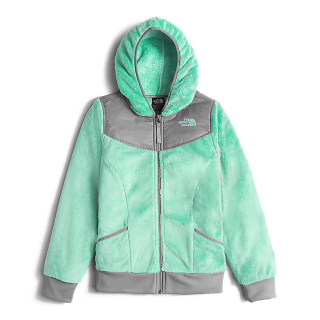 Discount NORTH FACE GIRLS\' OSO HOODIEGIRLS\' OSO HOODIE ICE GREEN ONLINE