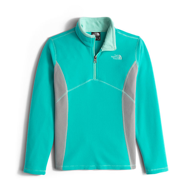 Discount NORTH FACE GIRLS\' GLACIER 1/4 ZIP ION BLUE ONLINE