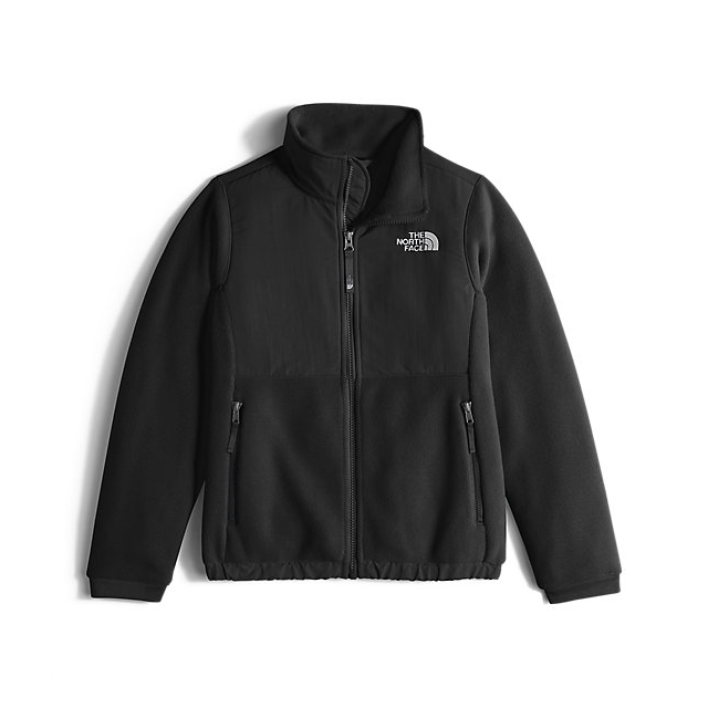Discount NORTH FACE GIRLS' DENALI JACKET BLACK ONLINE