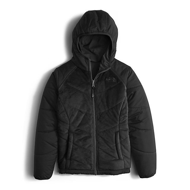Discount NORTH FACE GIRLS\' REVERSIBLE PERSEUS JACKET BLACK ONLINE