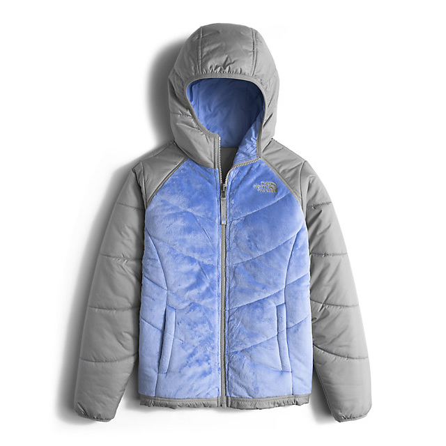 Discount NORTH FACE GIRLS\' REVERSIBLE PERSEUS JACKET GRAPEMIST BLUE ONLINE