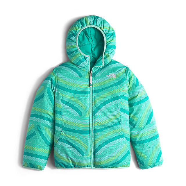 Discount NORTH FACE GIRLS\' REVERSIBLE PERRITO JACKET ION BLUE ONLINE