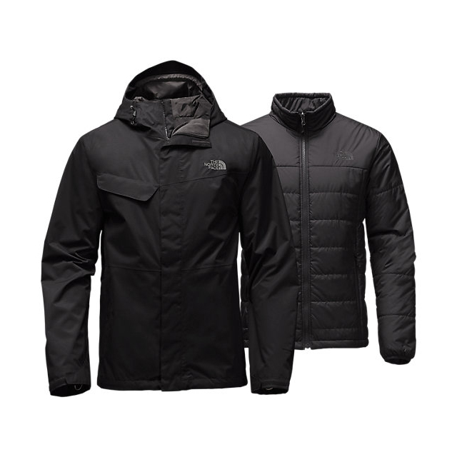 Discount NORTH FACE MEN\'S BESWICK TRICLIMATE  JACKET BLACK / BLACK ONLINE