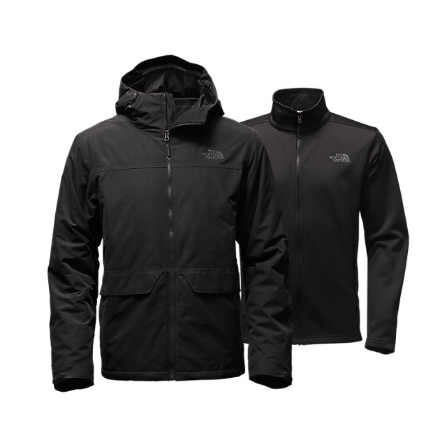Discount NORTH FACE MEN\'S CANYONLANDS TRICLIMATE  JACKET BLACK ONLINE