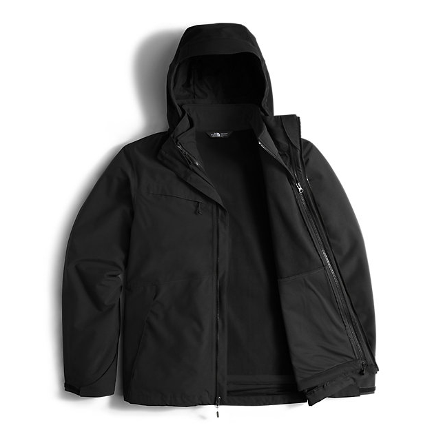 Discount NORTH FACE MEN\'S CONDOR TRICLIMATE  JACKET BLACK / BLACK ONLINE