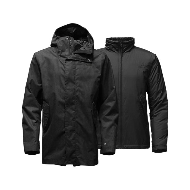 Discount NORTH FACE MEN\'S ELMHURST TRICLIMATE  JACKET BLACK ONLINE