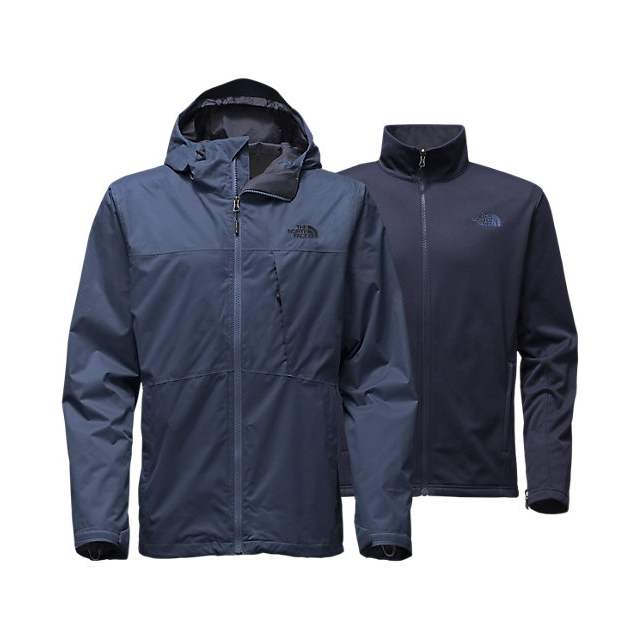 Discount NORTH FACE MEN'S ARROWOOD TRICLIMATE  JACKET SHADY BLUE ONLINE