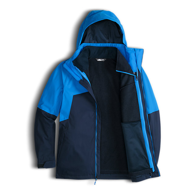 Discount NORTH FACE MEN\'S GAMBIT TRICLIMATE JACKET BOMBER BLUE/URBAN NAVY ONLINE