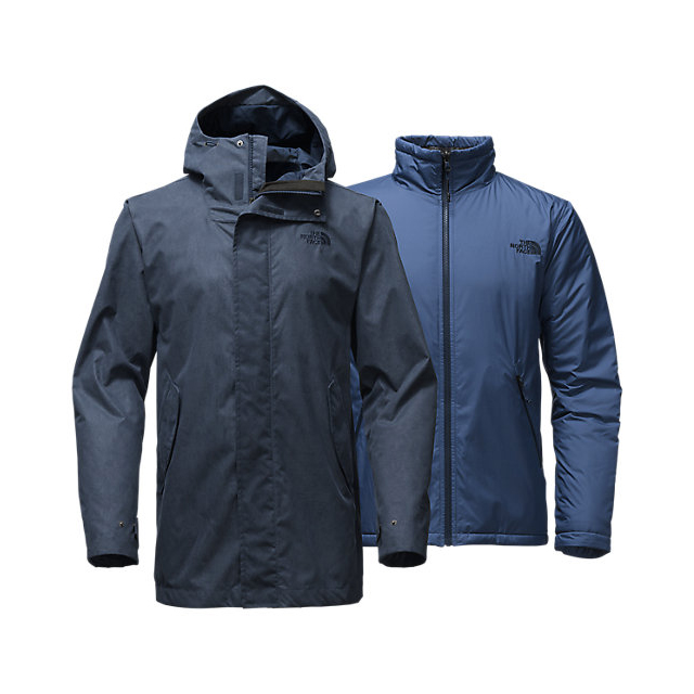 Discount NORTH FACE MEN'S ELMHURST TRICLIMATE JACKET URBAN NAVY ONLINE