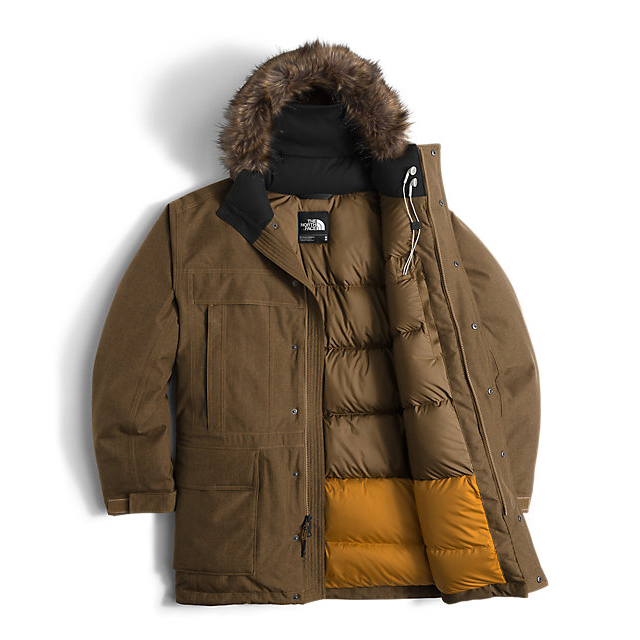 Discount NORTH FACE MEN\'S MCMURDO PARKA II BROWN FIELD HEATHER ONLINE