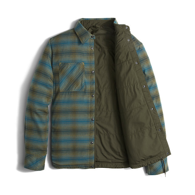 Discount NORTH FACE MEN\'S FORT POINT FLANNEL ROSIN GREEN ONLINE