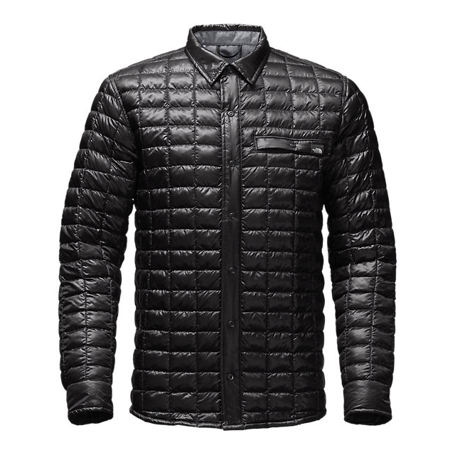 Discount NORTH FACE MEN'S REYES THERMOBALL  SHIRT JACKET BLACK ONLINE