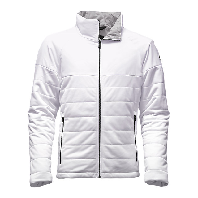 Discount NORTH FACE MEN\'S SKOKIE INSULATED FULL ZIP WHITE / WHITE ONLINE