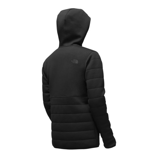Discount NORTH FACE MEN\'S HOODED HALDEE INSULATED JACKET BLACK ONLINE