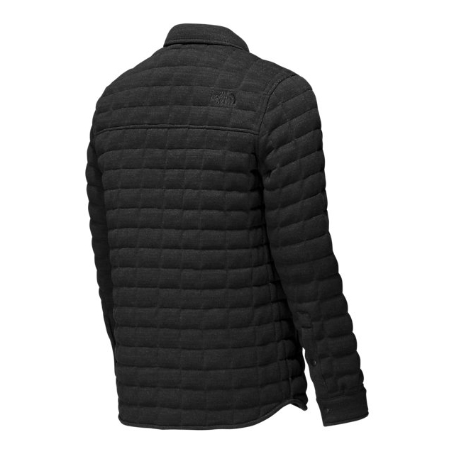 Discount NORTH FACE MEN\'S KINGSTON THERMOBALL SHACKET BLACK ONLINE