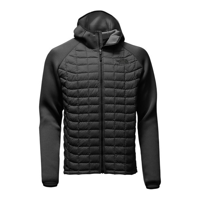 Discount NORTH FACE MEN'S UPHOLDER THERMOBALL HYBRID JACKET BLACK STRIA/BLACK HEATHER ONLINE
