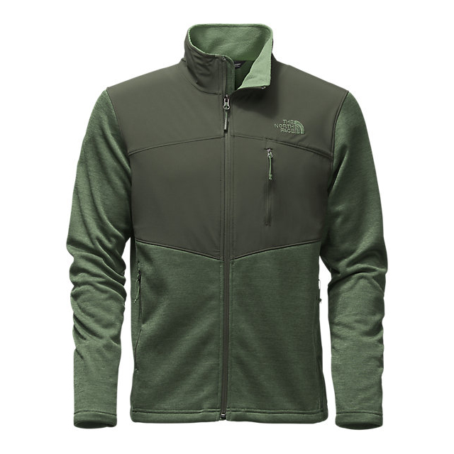 Discount NORTH FACE MEN'S NORRIS FULL ZIP DUCK GREEN HEATHER/CLIMBING IVY GREEN ONLINE