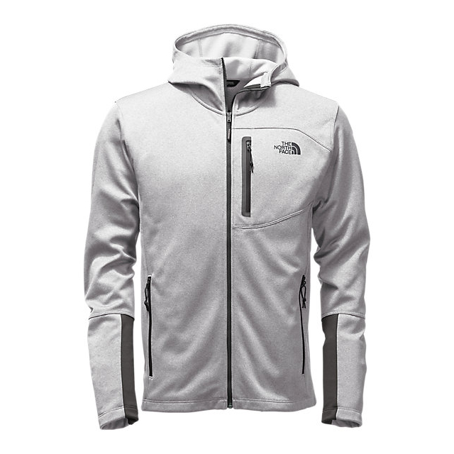 Discount NORTH FACE MEN'S CANYONLANDS HOODIE LIGHT GREY HEATHER ONLINE
