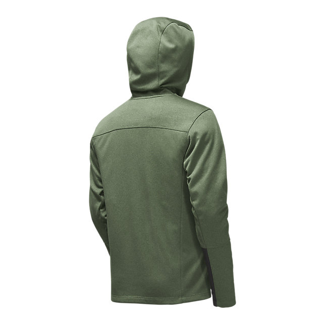 Discount NORTH FACE MEN\'S CANYONLANDS HOODIE DUCK GREEN HEATHER ONLINE