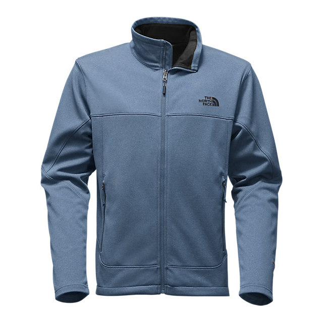Discount NORTH FACE MEN'S CANYONWALL JACKET SHADY BLUE HEATHER/SHADY BLUE HEATHER ONLINE