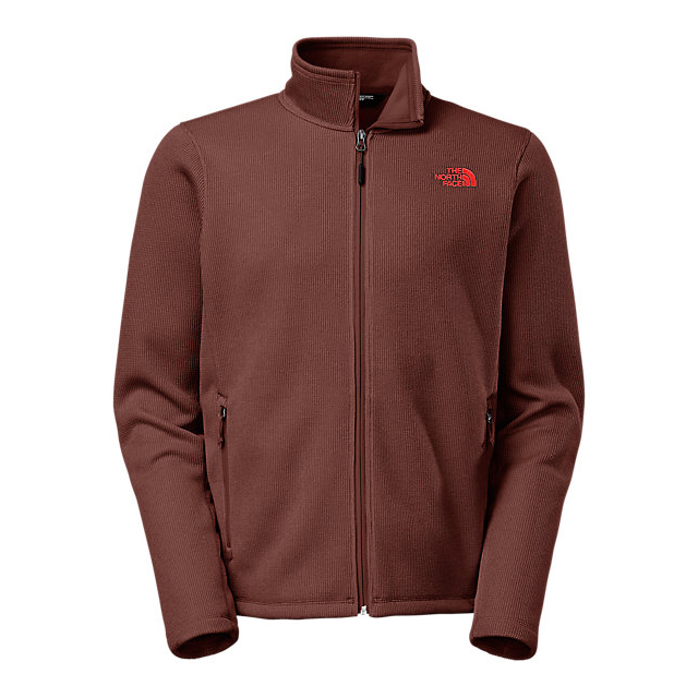 Discount NORTH FACE MEN'S KRESTWOOD FULL ZIP SWEATER SEQUOIA RED ONLINE