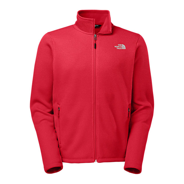 Discount NORTH FACE MEN'S KRESTWOOD FULL ZIP SWEATER RED ONLINE