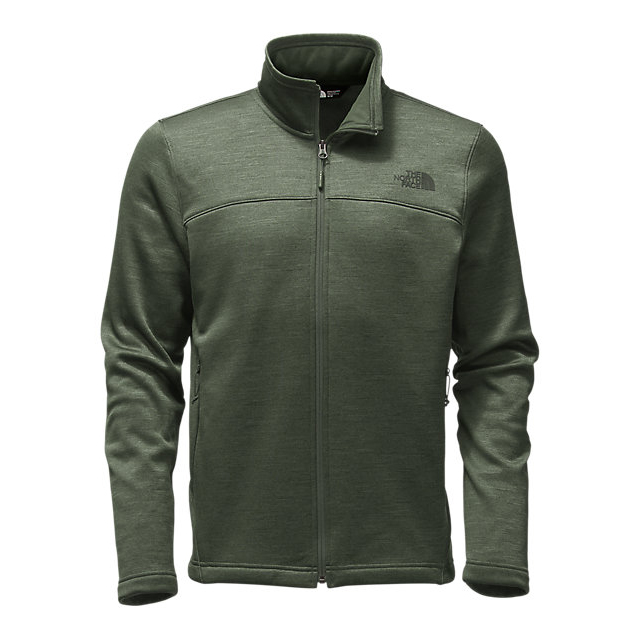 Discount NORTH FACE MEN'S SCHENLEY FULL ZIP CLIMBING IVY GREEN HEATHER ONLINE