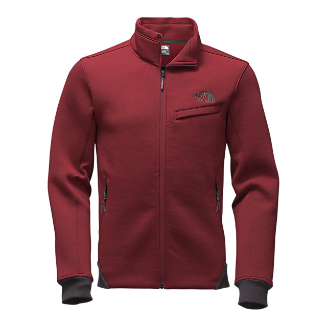 Discount NORTH FACE MEN'S THERMAL 3D JACKET BIKING RED BLACK HEATHER ONLINE