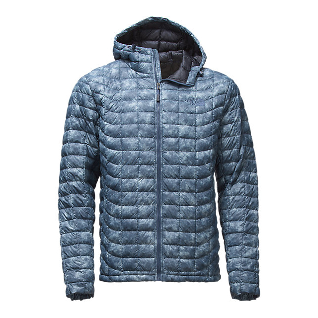 Discount NORTH FACE MEN'S THERMOBALL HOODIE SHADY BLUE PROCESS PRINT ONLINE