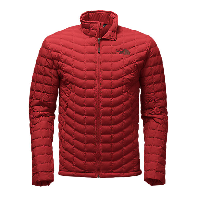 Discount NORTH FACE MEN'S STRETCH THERMOBALL JACKET CARDINAL RED ONLINE