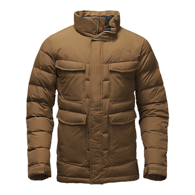 Discount NORTH FACE MEN'S FAR NORTHERN JACKET BROWN FIELD ONLINE