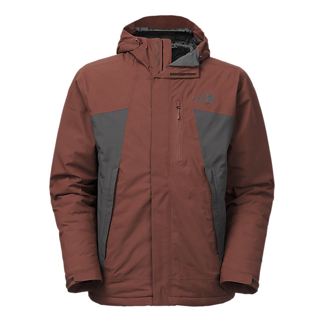 Discount NORTH FACE MEN\'S PLASMA THERMOBALL JACKET SEQUOIA RED/ASPHALT GREY ONLINE
