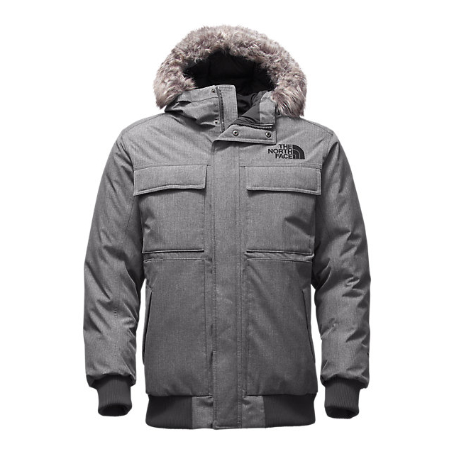 Discount NORTH FACE MEN\'S GOTHAM JACKET II MEDIUM GREY HEATHER ONLINE
